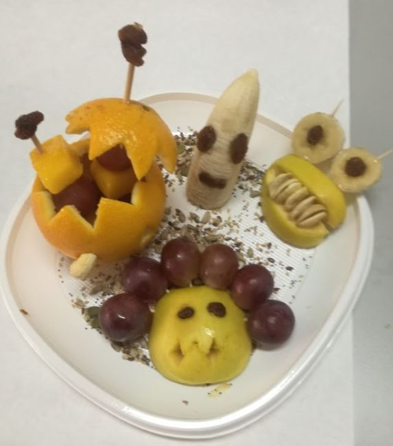 halloween saludable