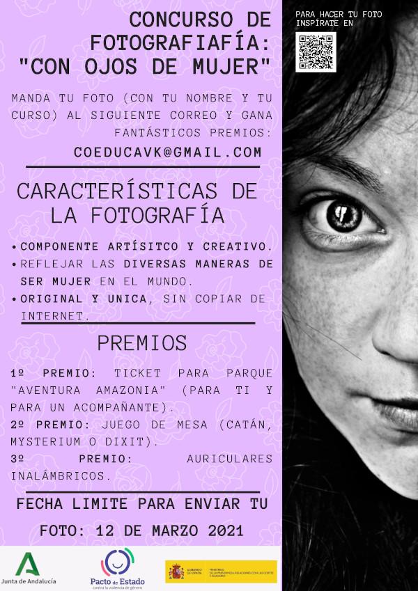 carteldel concurso de fotografía